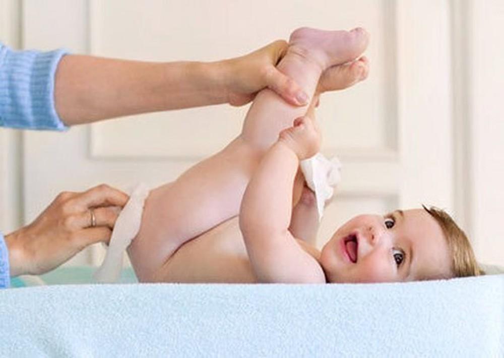 Các cách phòng tránh khiến bé không bị hăm da