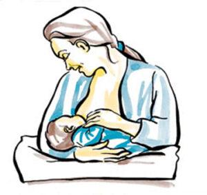 tư thế cho bé bú tránh sặc sữa