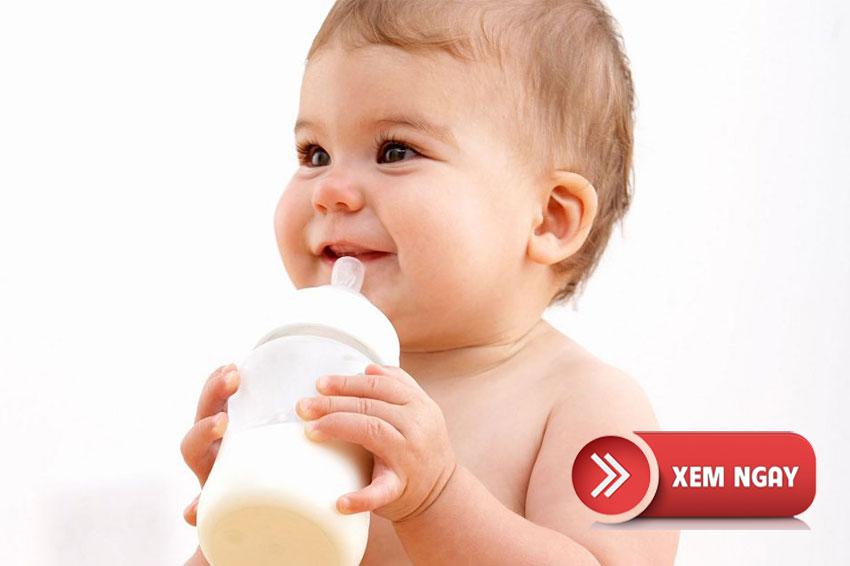 Sữa công thức tốt dành cho trẻ
