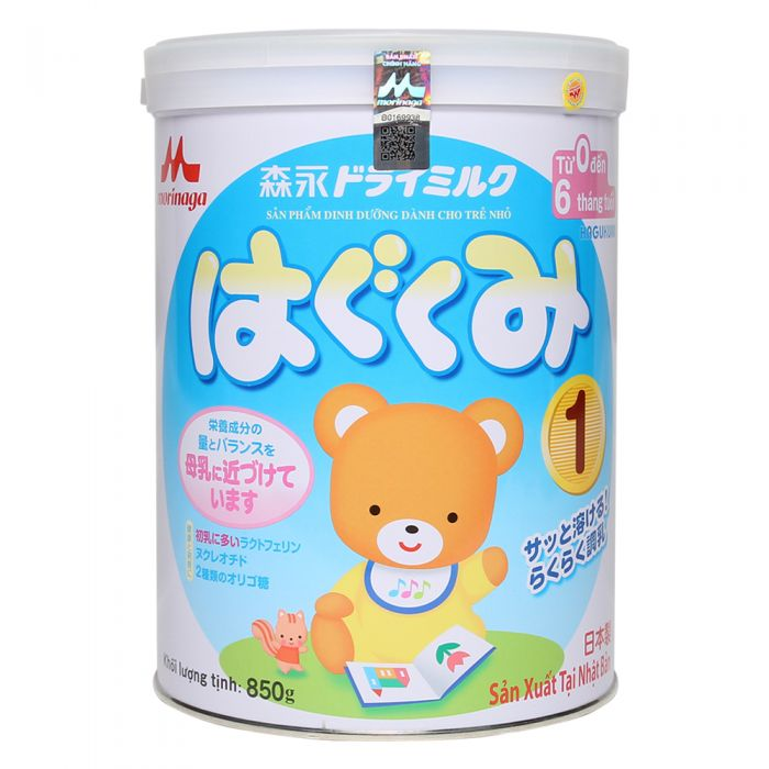 Morinaga là một dòng sữa Nhật rất giàu dinh dưỡng