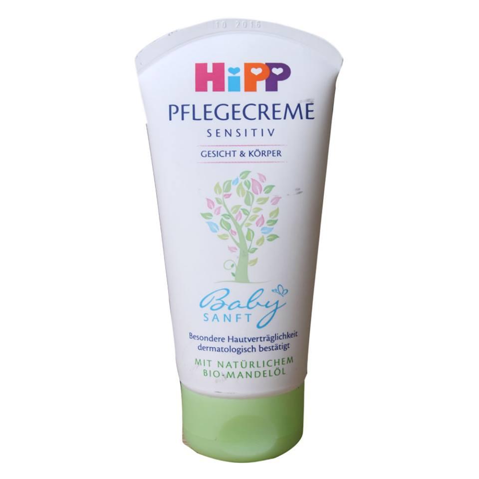 Kem dưỡng ẩm HiPP lành tính với trẻ sơ sinh
