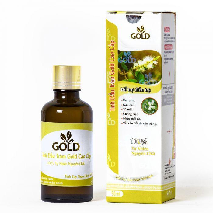 Tinh dầu tràm Gold có tác dụng diệt khuẩn, rất tốt cho sức khỏe