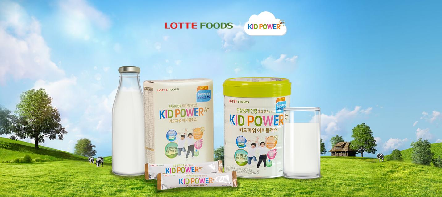 Sữa Kid Power A+ là thực phẩm chứa nguồn dinh dưỡng thiết yếu nhất cho trẻ