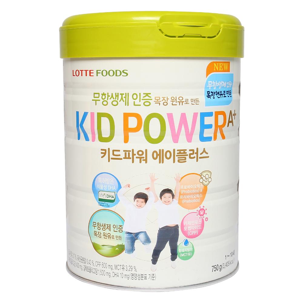 Sữa KID POWER A+ mang giá trị to lớn cho sức khỏe của trẻ nhỏ